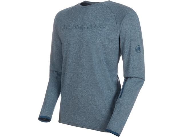 Mammut Crashiano Langærmet T-shirt Herrer, wing teal melange